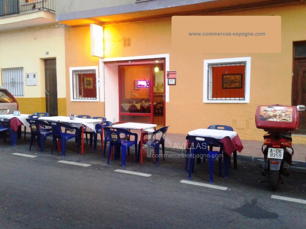 Calpe, Pizzeria, Centre