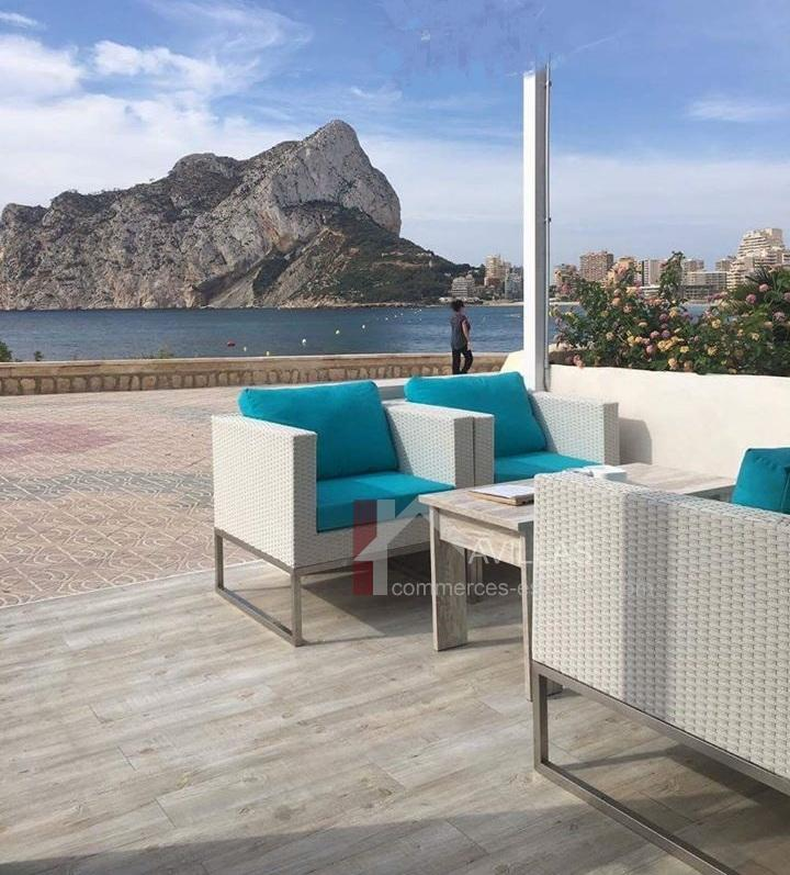 Costa Blanca, Calpe, Bar-Réstaurant-Lounge