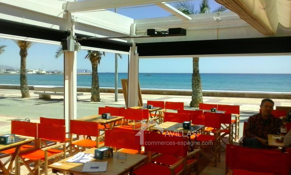 vente restaurant de plage espagne