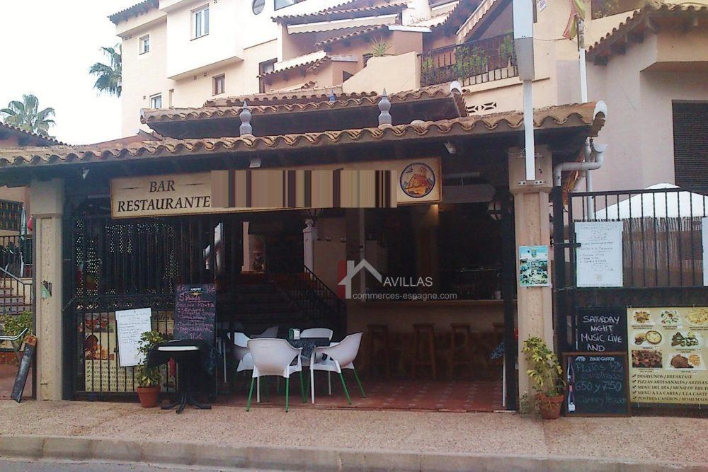 Torrevieja, Bar restaurant