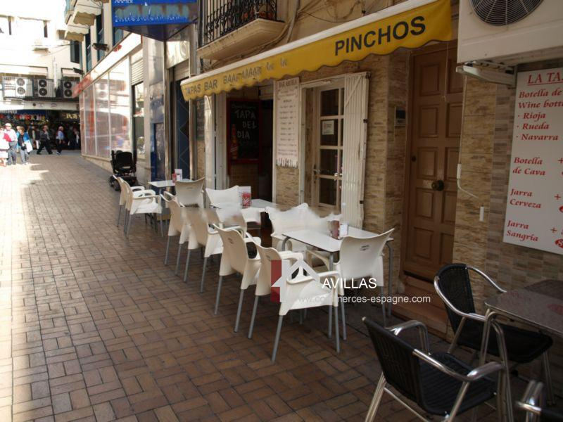 Benidorm, Bar, Tapas quartier historique