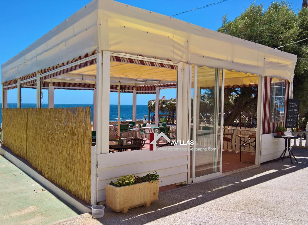 Torrevieja, café-restaurant à 30m de la mer !