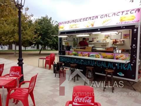 terrasse food truck enseigne