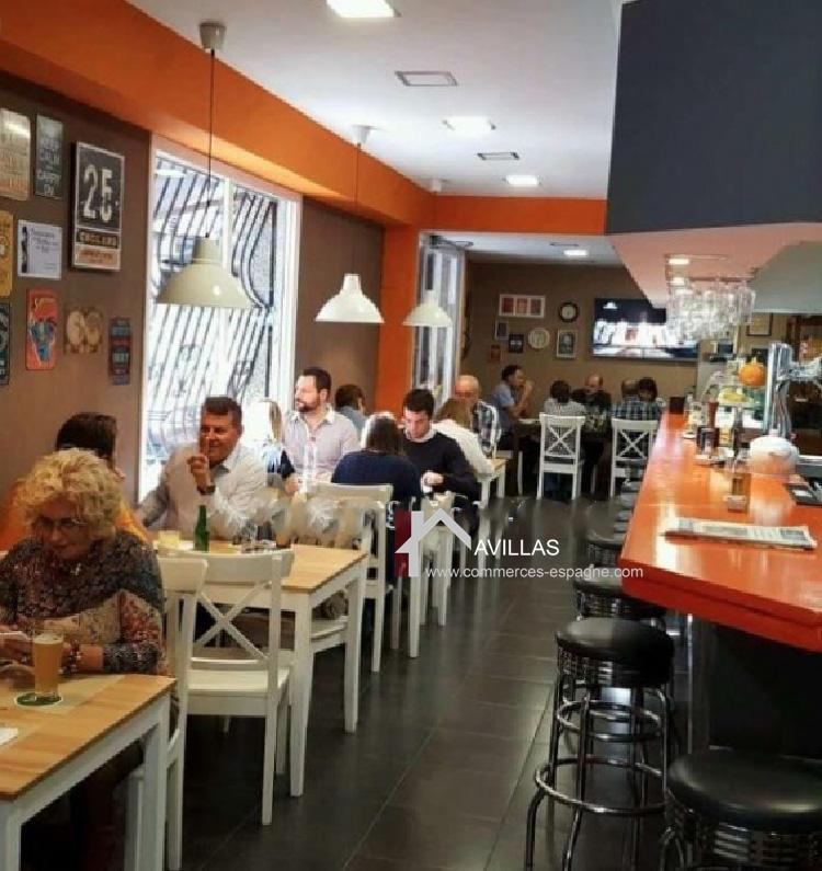 Alicante, Café-snack centre ville