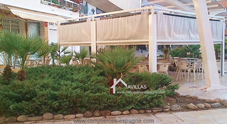 Torrevieja, Bar Restaurant place du centre ville
