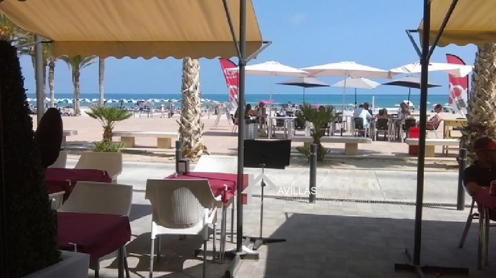 Villajoyosa, Pizzeria Restaurant face à la plage