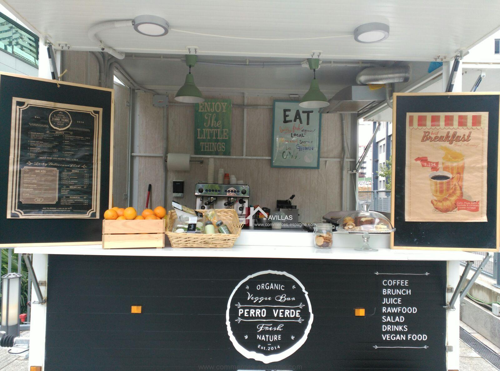 Madrid, Food truck