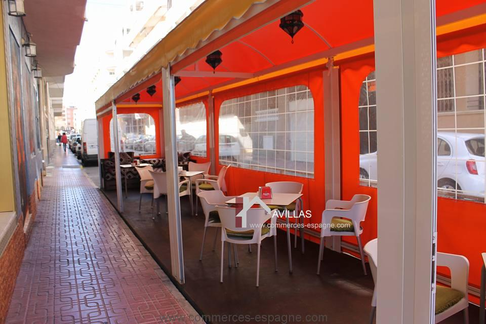 A LOUER, Torrevieja, bar Restaurant