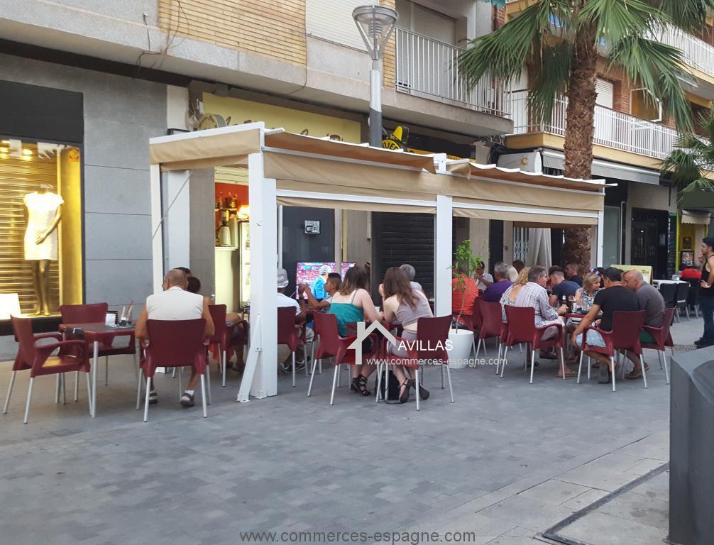 Torrevieja, Bar, Tapas rue piétonne