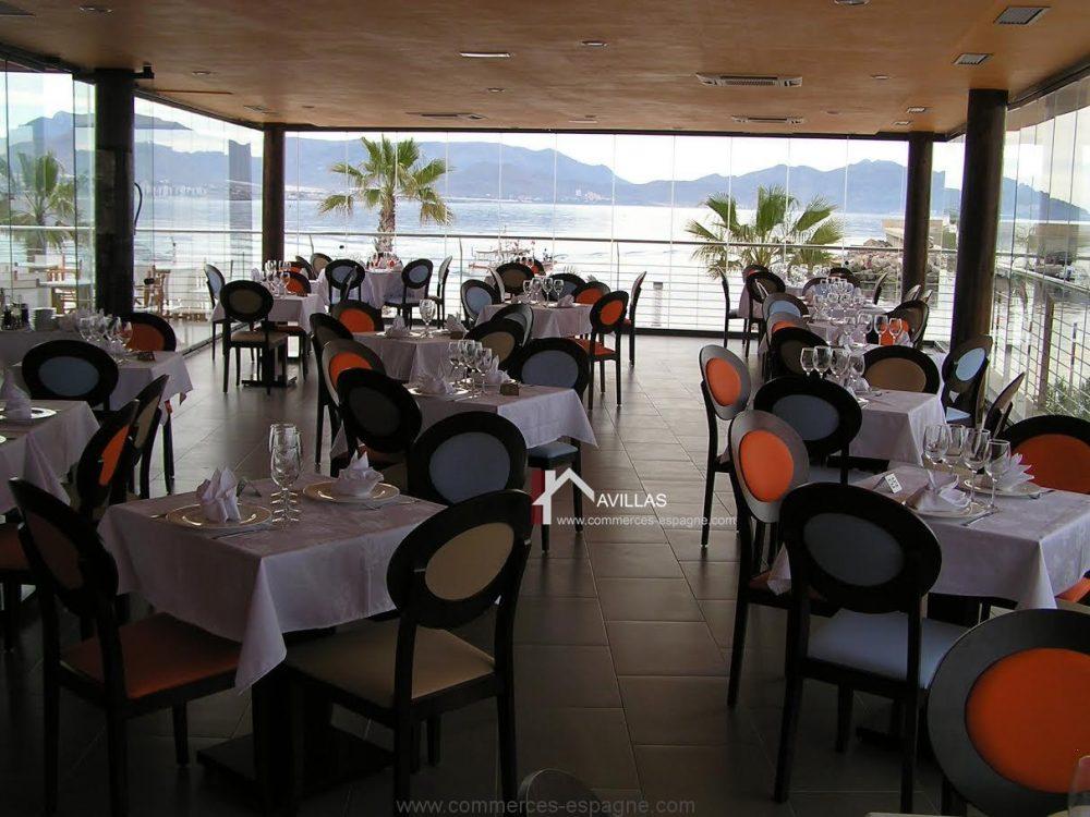 Murcia, Puerto de Mazarron, Bar Restaurant