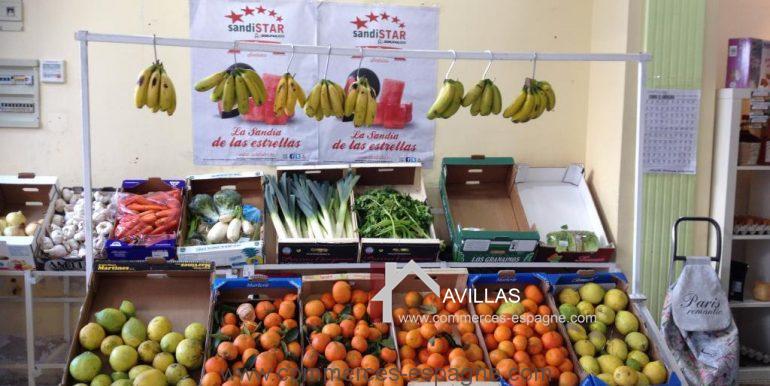 malaga-commerces-espagne-COM42006 étals fruits et légumes