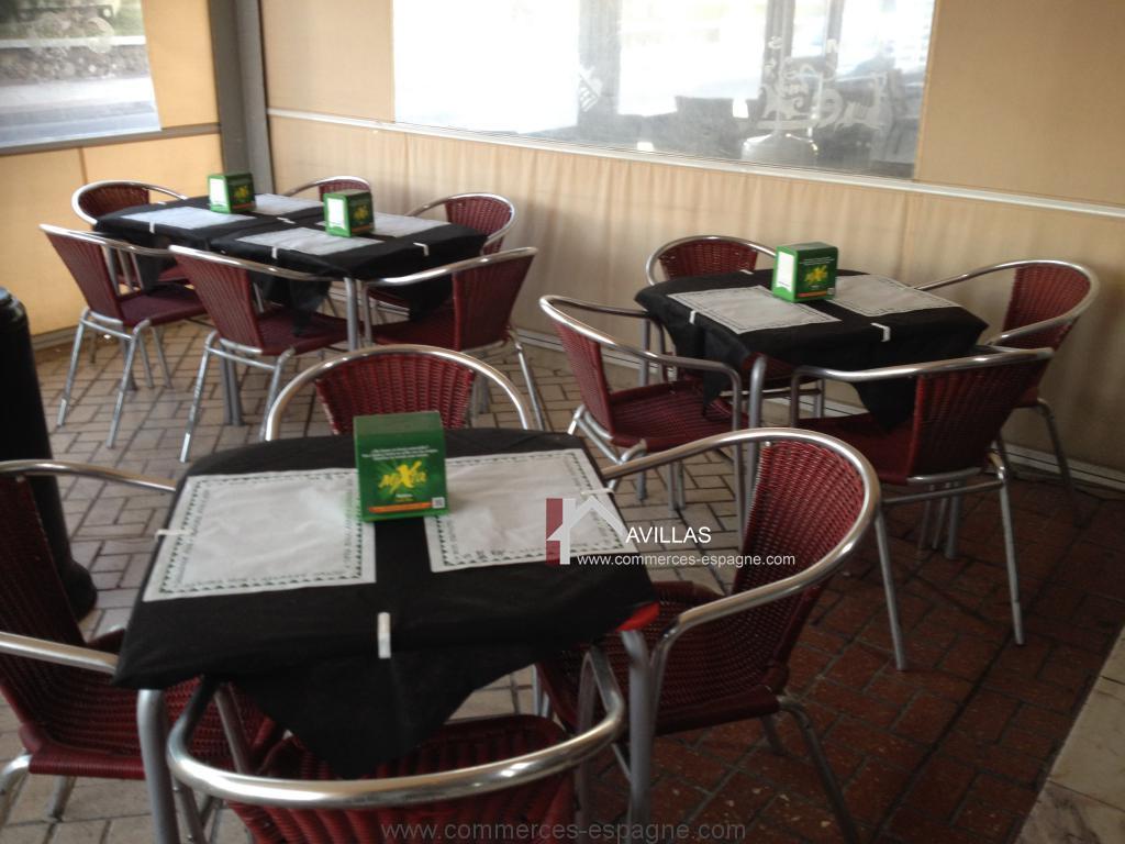 Torre del Mar, Bar, cafétéria, Snack bord de mer