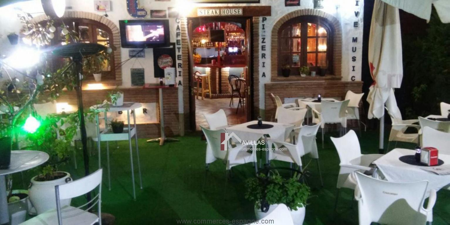Nerja, Bar Café Pizzeria Costa del Sol