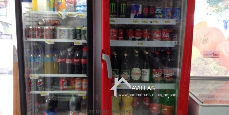 malaga-commerces-espagne-COM42011-frigos à boissons