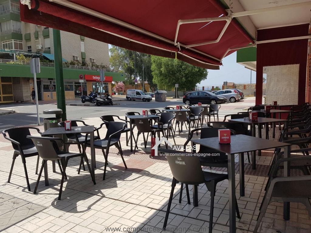 Malaga, Bar,Tapas, Cafétéria