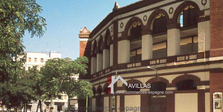 malaga-commerces-espagne-COM42017- plaza de toros