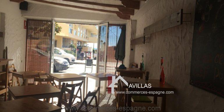 marbella, bar, tapas, Avillas commerces espagne