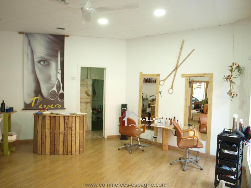 Alicante, Salon de coiffure esthétique