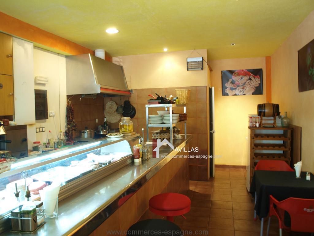 Alicante, bar, tapas Snack proche plage