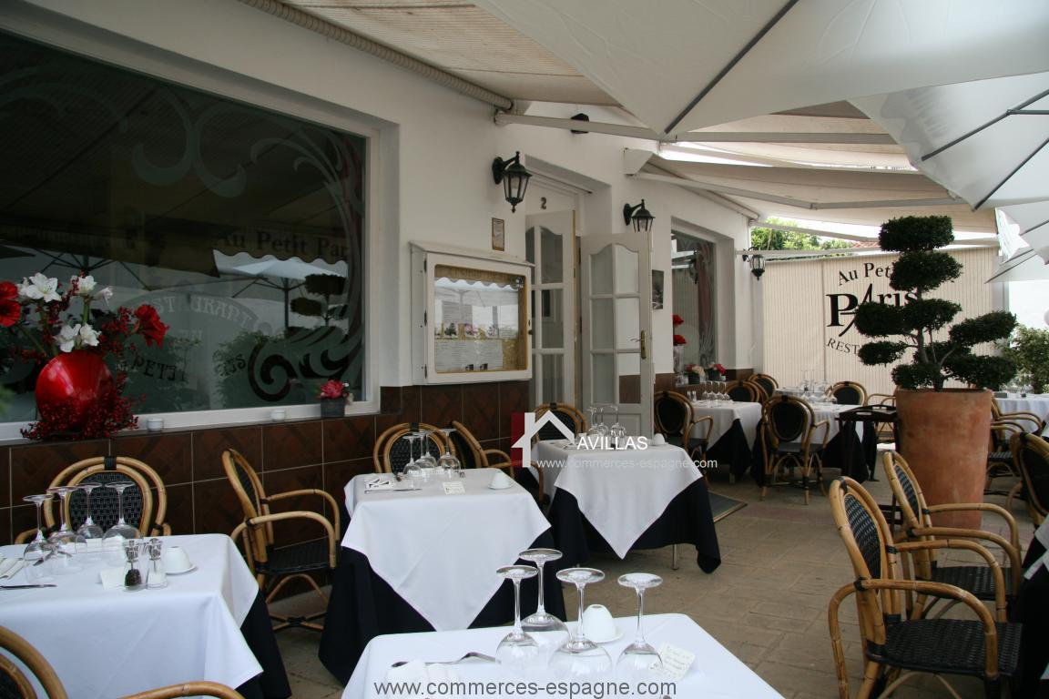 Nerja, Restaurant traditionnel français
