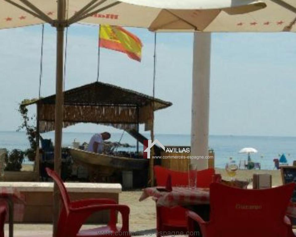 Rincon de la Victoria, Bar-Restaurant bord de mer