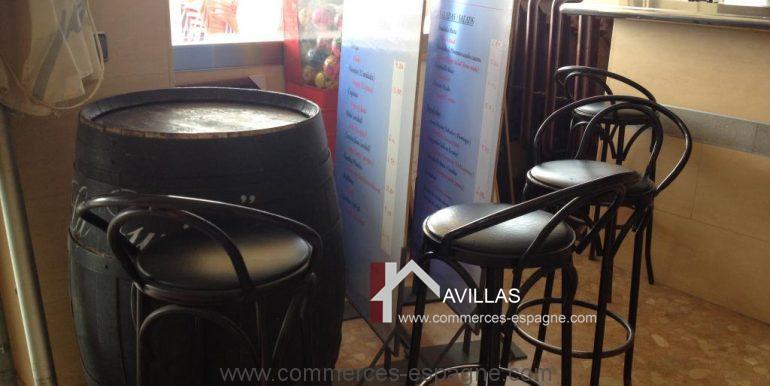 malaga-commerces-espagne-COM42027-fût de bar
