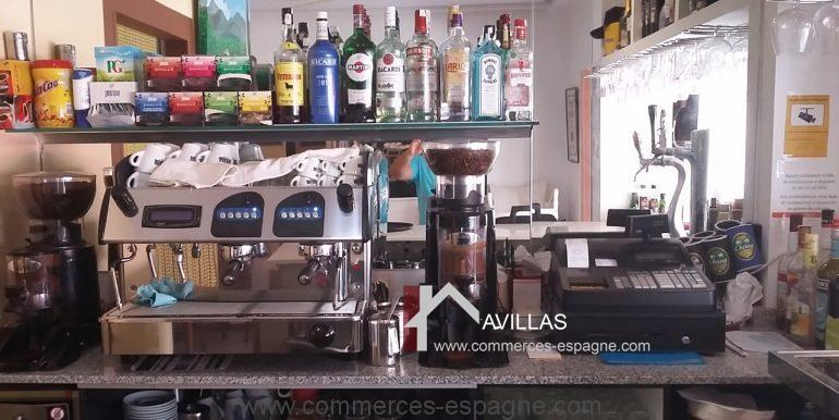 bar tapas a vendre albir