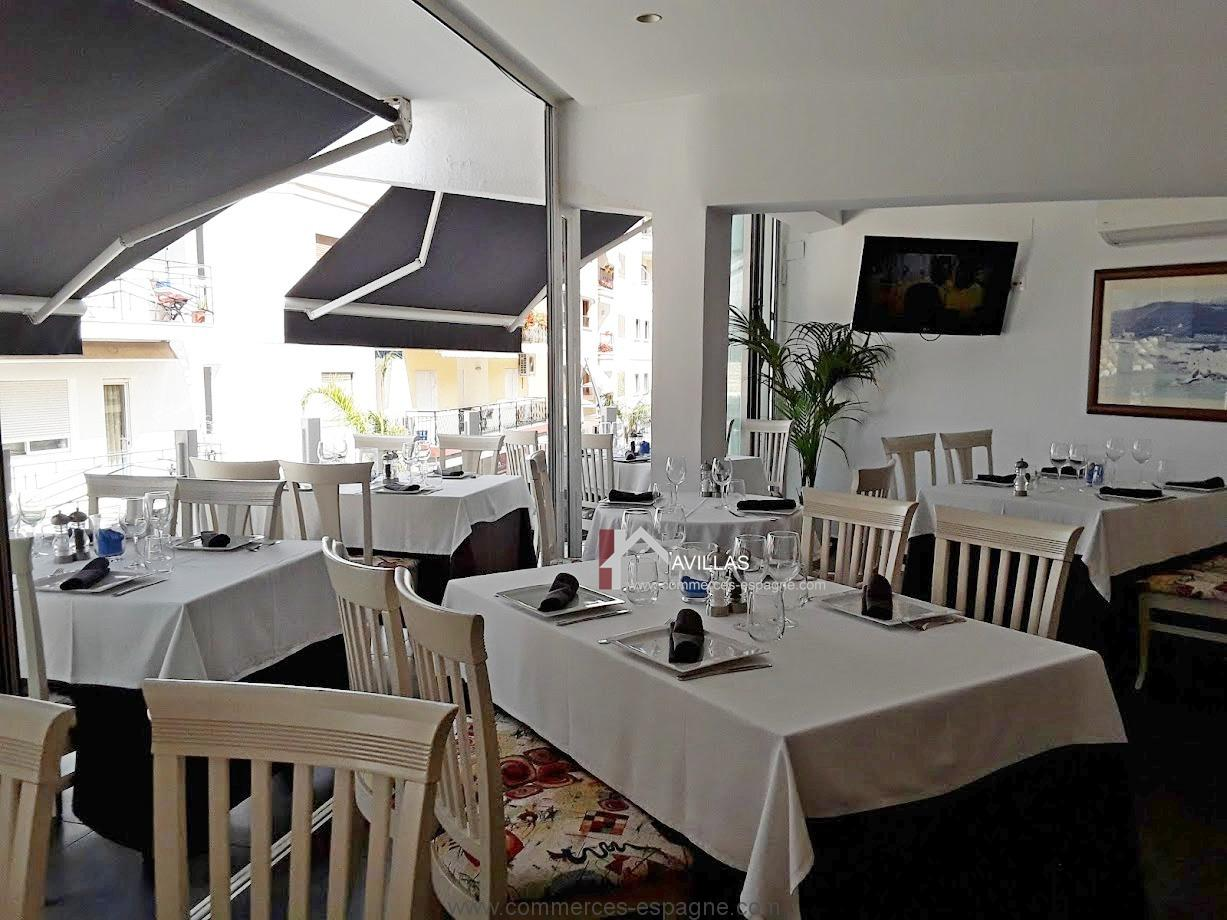 moraira bar restaurant avec appartement fonds de. Black Bedroom Furniture Sets. Home Design Ideas