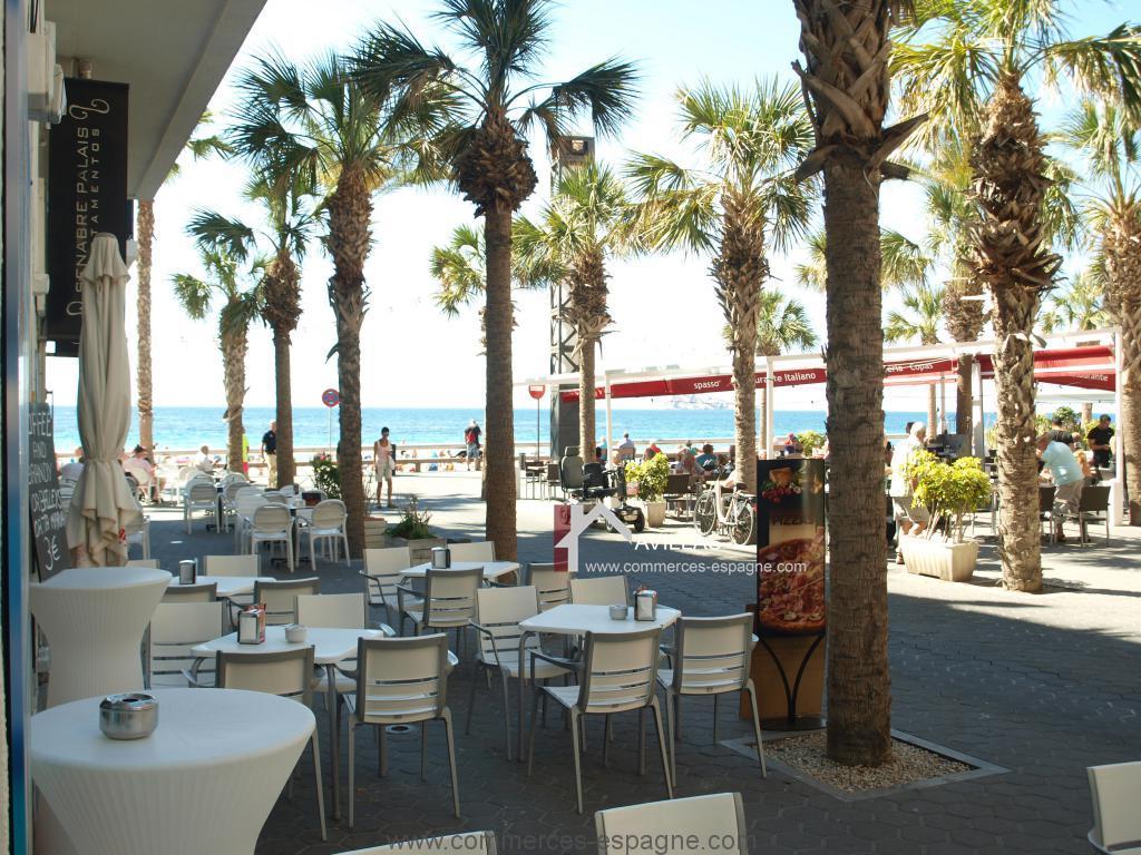 Benidorm, cafeteria, snack, tapas, bord de mer