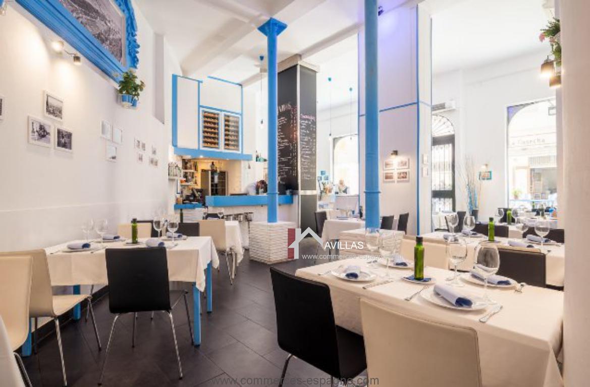 Malaga, restaurant traditionnel au Centre historique