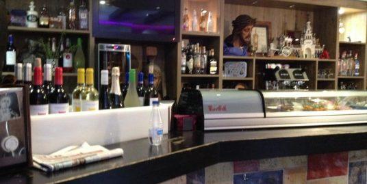 Malaga, Bar tapas rue piétonne