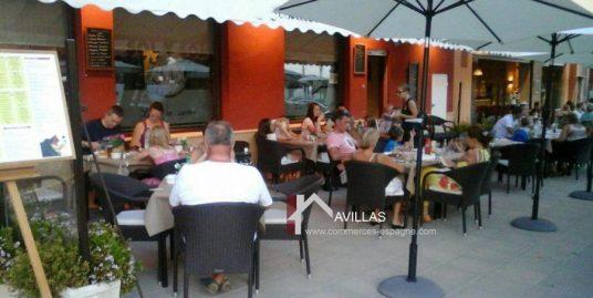 Moraira, Bar Restaurant front de mer Costa Blanca