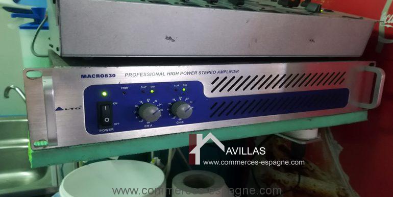 COM30005 amplificateur-restaurant-glacier-avillas commerces espagne