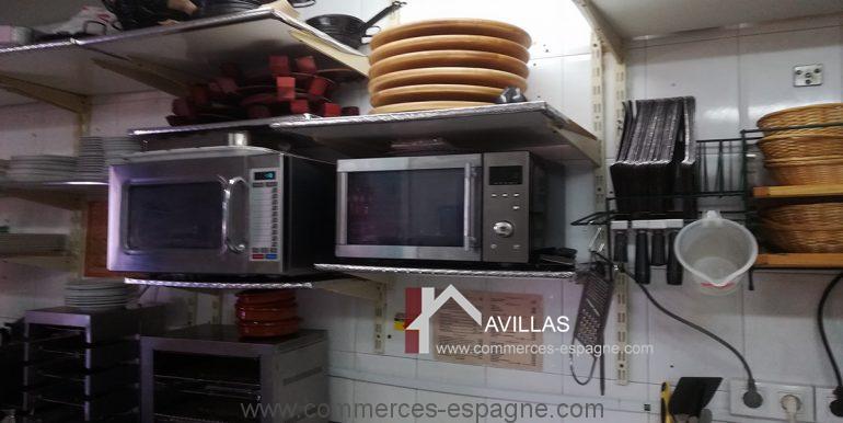 COM30005 cuisine micro onde fours divers appareils-restaurant-glacier-avillas commerces espagne