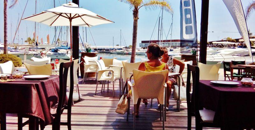 Alicante sud, Bar tapas, dans la marina