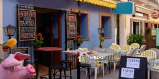 Fuengirola, Fonds de commerce et Murs Crêperie Bar Tapas