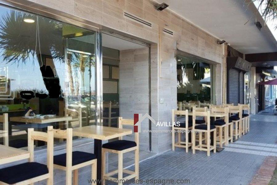 Malaga, Bar Restaurant à louer Costa del Sol