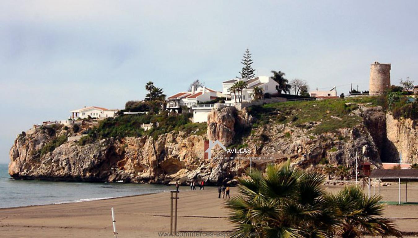 Malaga, Restaurant traditionnel, proche plage