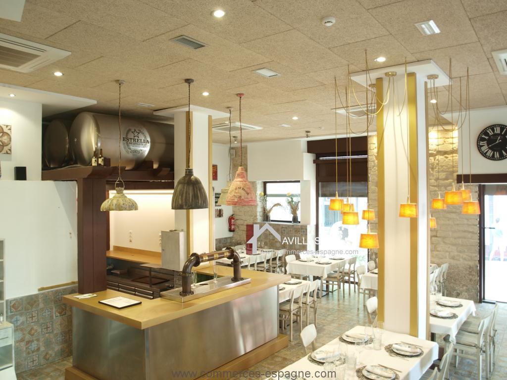 Alicante, restaurant centre ville sur deux étages