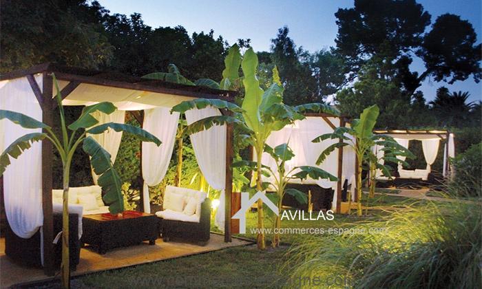 San Juan de Alicante, bar Restaurant jardin tropical