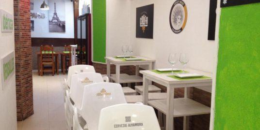 Malaga, Restaurant au centre ville