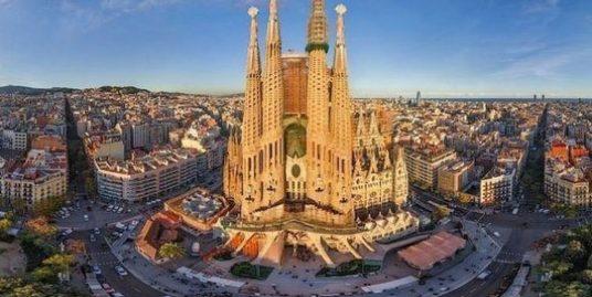 Barcelone, Bar Restaurant avec terrasse