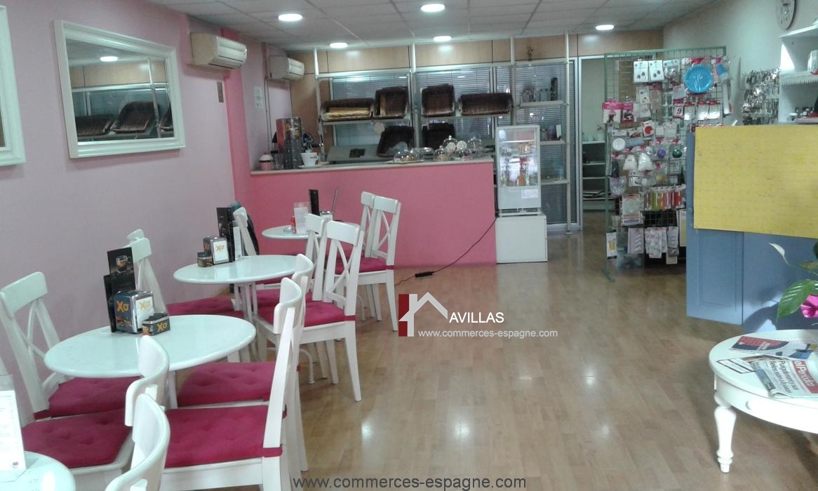 Blanes, Boulangerie, Pâtisserie, Salon de thé