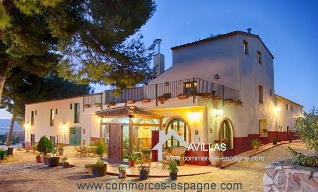 commerces-espagne-alicante-com35028-hotel-restaurant-entrée
