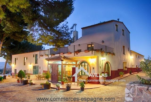 Alicante h tel restaurant fonds de commerce espagne for Hotel avec restaurant