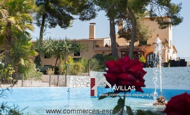 commerces-espagne-alicante-com35028-hotel-restaurant-piscine2