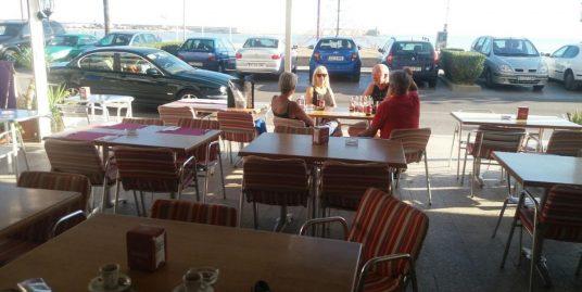 Peniscola, Bar, Cafétéria, Pizzéria face mer avec logement