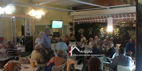 Benidorm, Bar Tapas Cafeteria avec terrasse