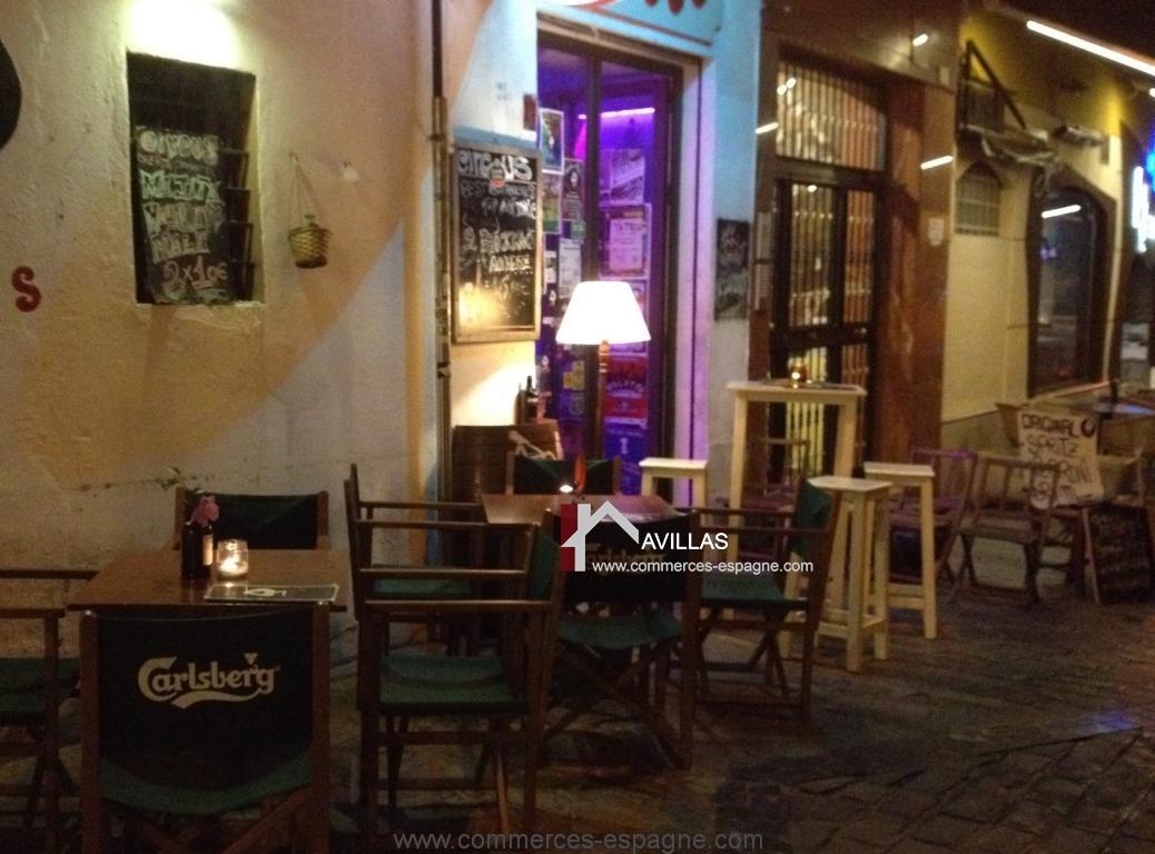 Malaga, Bar de nuit, Costa del Sol