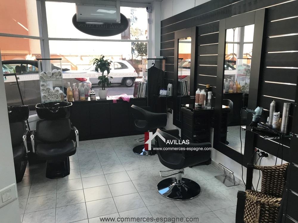 Salon de coiffure à Fuerteventura, île canarie